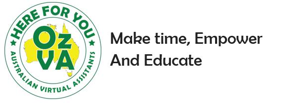 Oz-VA-make-time-empower-logo